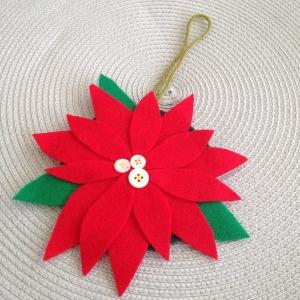 poinsettia ornament 1