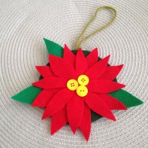 poinsettia ornament 2