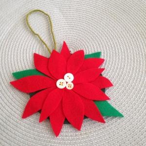 poinsettia ornament 3