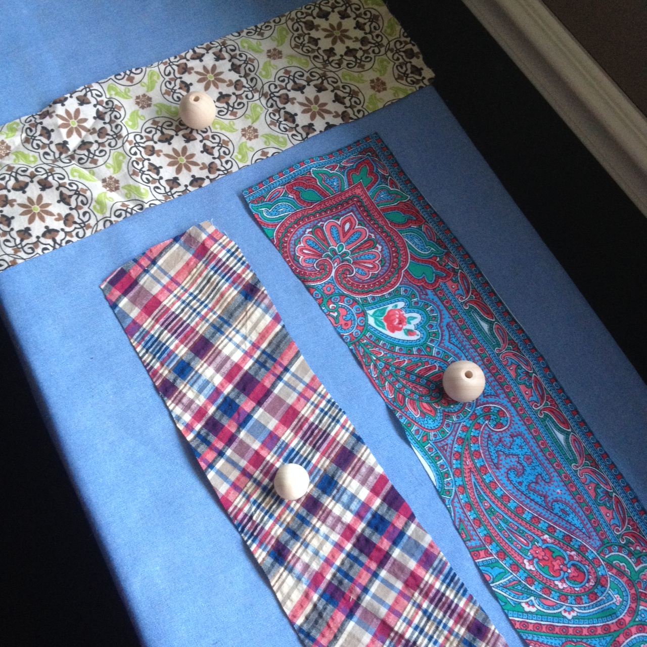 scrappy fabric bead necklaces bohoeco